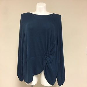 Collection by Bobeau Plus Size Long Sleeve Shirt